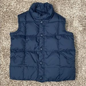 Lands' End Down Puffer Vest Kids size 4/4t